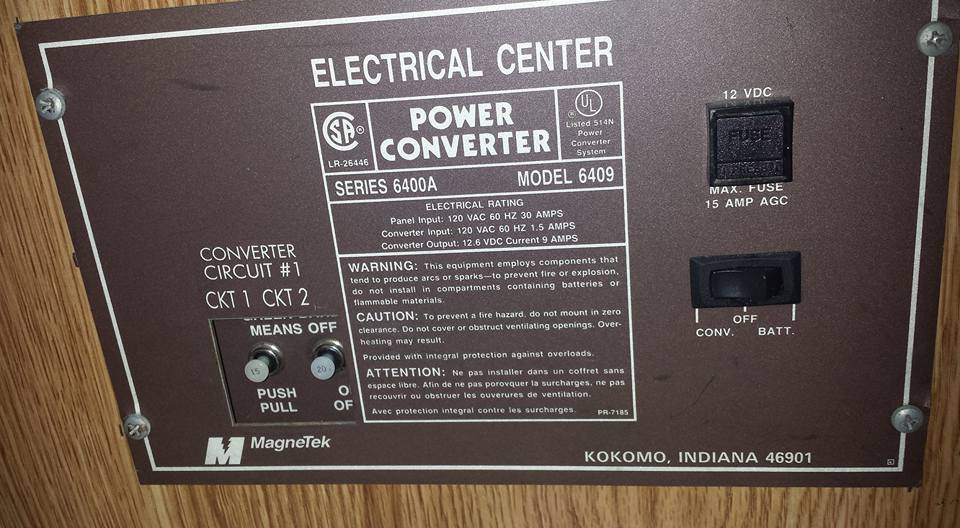 New or used Power converter   CamperCommunity Forums