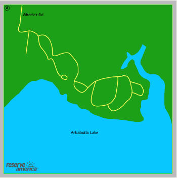 Enid Lake Campground in Enid, Mississippi (Persimmon Hill)-enidfacilitymap.jpg