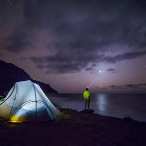 Simple Solutions for Night Lighting While Camping